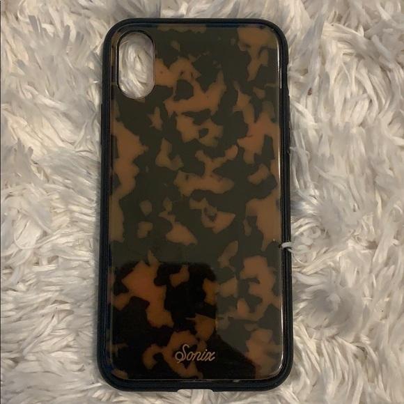 Sonix tortoise shell iphone xs case